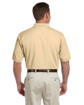 Butter Men's Pima Pique Short-Sleeve Polo as seen from the back