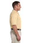 Butter Men's Pima Pique Short-Sleeve Polo as seen from the sleeveleft