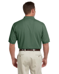 Dill Men's Pima Pique Short-Sleeve Polo as seen from the back