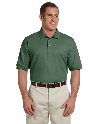 Dill Men's Pima Pique Short-Sleeve Polo as seen from the front