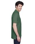 Dill Men's Pima Pique Short-Sleeve Polo as seen from the sleeveleft