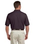 Espresso Men's Pima Pique Short-Sleeve Polo as seen from the back