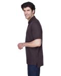 Espresso Men's Pima Pique Short-Sleeve Polo as seen from the sleeveright