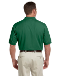 Forest Men's Pima Pique Short-Sleeve Polo as seen from the back