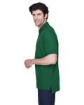 Forest Men's Pima Pique Short-Sleeve Polo as seen from the sleeveright