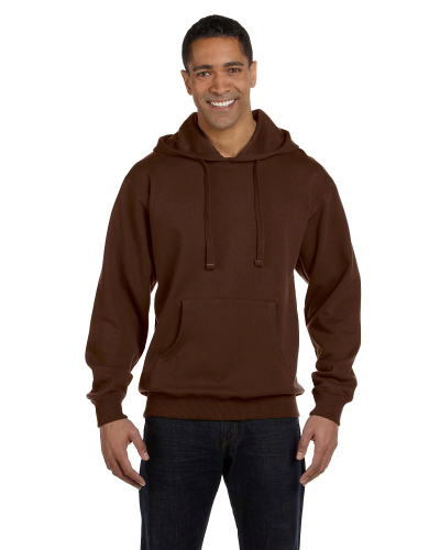 Earth 9 oz. Organic/Recycled Pullover Hood as seen from the front