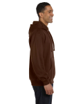 Earth 9 oz. Organic/Recycled Pullover Hood as seen from the sleeveleft