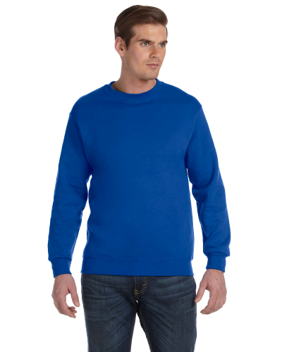 Royal DryBlend 9.3 oz., 50/50 Fleece Crew as seen from the front