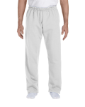 Ash DryBlend 9.3 oz., 50/50 Open-Bottom Sweatpants as seen from the front