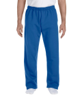 Royal DryBlend 9.3 oz., 50/50 Open-Bottom Sweatpants as seen from the front