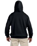 Black 9.3 oz. DryBlend™ 50/50 Hood as seen from the back
