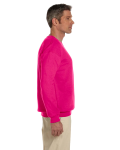 Heliconia 7.75 oz. Heavy Blend™ 50/50 Fleece Crew as seen from the sleeveleft
