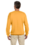 Honey 7.75 oz. Heavy Blend™ 50/50 Fleece Crew as seen from the back