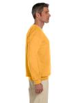Honey 7.75 oz. Heavy Blend™ 50/50 Fleece Crew as seen from the sleeveleft