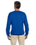 Royal 7.75 oz. Heavy Blend™ 50/50 Fleece Crew as seen from the back