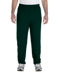 Forest Green Heavy Blend™ 8 oz., 50/50 Sweatpants as seen from the front
