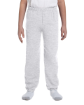 Ash Heavy Blend™ Youth 8 oz., 50/50 Sweatpants as seen from the front