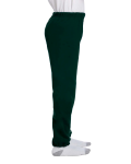 Forest Green Heavy Blend™ Youth 8 oz., 50/50 Sweatpants as seen from the sleeveleft