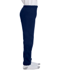 Navy Heavy Blend™ Youth 8 oz., 50/50 Sweatpants as seen from the sleeveleft
