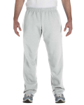 Ash Heavy Blend™ 8 oz., 50/50 Open-Bottom Sweatpants as seen from the front