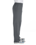 Charcoal Heavy Blend™ 8 oz., 50/50 Open-Bottom Sweatpants as seen from the sleeveleft