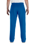 Royal Heavy Blend™ 8 oz., 50/50 Open-Bottom Sweatpants as seen from the back