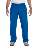 Royal Heavy Blend™ 8 oz., 50/50 Open-Bottom Sweatpants as seen from the front
