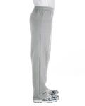Sport Grey Heavy Blend™ 8 oz., 50/50 Open-Bottom Sweatpants as seen from the sleeveleft