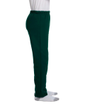 Forest Green Heavy Blend™ Youth 8 oz., 50/50 Open-Bottom Sweatpants as seen from the sleeveleft