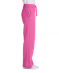 Azalea Heavy Blend™ Ladies' 8 oz., 50/50 Open-Bottom Sweatpants as seen from the sleeveleft