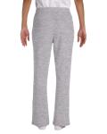 Sport Grey Heavy Blend™ Ladies' 8 oz., 50/50 Open-Bottom Sweatpants as seen from the back