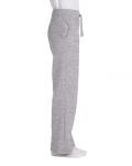 Sport Grey Heavy Blend™ Ladies' 8 oz., 50/50 Open-Bottom Sweatpants as seen from the sleeveleft