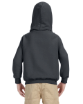 Charcoal Youth 8 oz. Heavy Blend 50/50 Hood as seen from the back