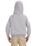 Sport Grey Youth 8 oz. Heavy Blend 50/50 Hood as seen from the back