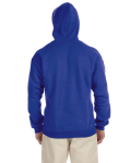 Royal Sport Grey 8 oz. Heavy Blend 50/50 Contrast Hood as seen from the back