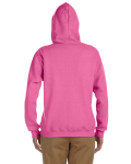 Azalea Heavy Blend™ Ladies' 8 oz., 50/50 Full-Zip Hood as seen from the back