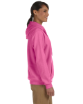 Azalea Heavy Blend™ Ladies' 8 oz., 50/50 Full-Zip Hood as seen from the sleeveleft