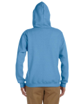 Carolina Blue Heavy Blend™ Ladies' 8 oz., 50/50 Full-Zip Hood as seen from the back