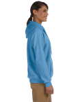Carolina Blue Heavy Blend™ Ladies' 8 oz., 50/50 Full-Zip Hood as seen from the sleeveleft