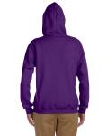Purple Heavy Blend™ Ladies' 8 oz., 50/50 Full-Zip Hood as seen from the back