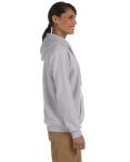 Sport Grey Heavy Blend™ Ladies' 8 oz., 50/50 Full-Zip Hood as seen from the sleeveleft