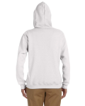 White Heavy Blend™ Ladies' 8 oz., 50/50 Full-Zip Hood as seen from the back