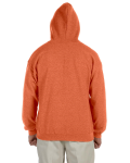 Sunset Heavy Blend™ 8 oz. Vintage Classic Full-Zip Hood as seen from the back
