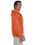Sunset Heavy Blend™ 8 oz. Vintage Classic Full-Zip Hood as seen from the sleeveleft