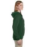 Meadow Heavy Blend™ Ladies' 8 oz. Vintage Classic Missy Fit Full-Zip Hood as seen from the sleeveleft
