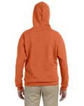 Sunset Heavy Blend™ Ladies' 8 oz. Vintage Classic Missy Fit Full-Zip Hood as seen from the back