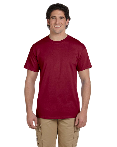 Antque Cherry Red Premium Ultra Cotton T as seen from the front