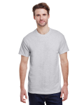 Ash Grey Premium Ultra Cotton T as seen from the front
