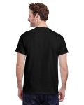 Black Premium Ultra Cotton T as seen from the back