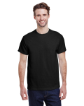 Black Premium Ultra Cotton T as seen from the front
